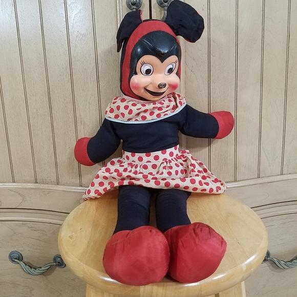 Vintage Mini Mouse Doll